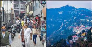 Tourists will get entry in Mussoorie only in weekend