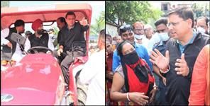 CM Dhami monitoring rescue and relief in uttarakand